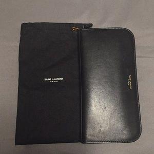 Saint Laurent Zip Wallet